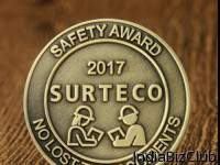 Custom Coins Safety Award Cheap Challenge Coins