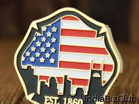 Personalized Coins Nashville Fire Department Challenge Coins