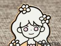 Custom Doll Enamel Pins