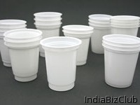 DAIRY CUPS White