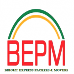 Logo - Bright Express Packers And Movers