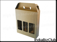 3 Bottle Carrier With Window