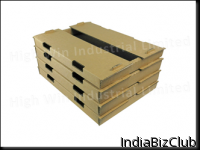 Stackable Tray With Dust Flap