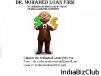 Dr Mohamed Loan Firm Our Goal   To Assist With Your Immediate Financial Needs