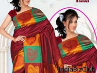 Rich Pallu Silk Polyester Saree
