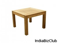 RECLAIMED TEAK RODEMACK DUSUN RECYCLED GARDEN TABLE DT 100DS