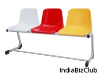 Bank Series Pavone Bench For Three People