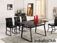 Modern Table Design Glass Table Set L861