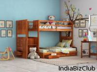 Buy Wooden Beds For Kid Bedroom Online WoodenStreet