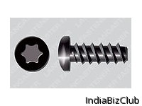 T Drive Pan Din 7981 Black Finish Self Tapping Screws