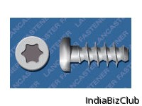 T Drive Pan Zinc Plated CR3 Screws For Plastics