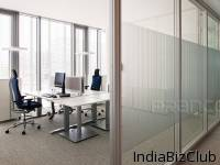 Practical Waterproof Fashion Office Single Glass Partition Glass Wall