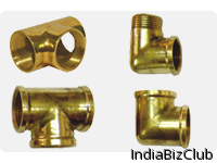 Brass Fittings Brass Elbow Tee