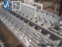 Hot Dipped Galvanized Steel Stringer For Steel Staircase