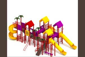 MODULAR CHILDREN PLAY SYSTEMS