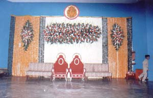 STAGE DECORATION FOR MARRIAGE