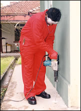 Pest Control (Drilling of holes)