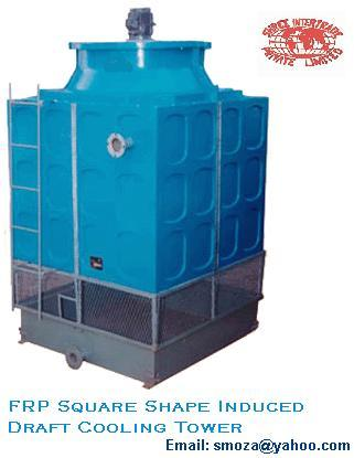 FRP COOLING TOWER SQUARE SHAPE : ( MULTICELL)