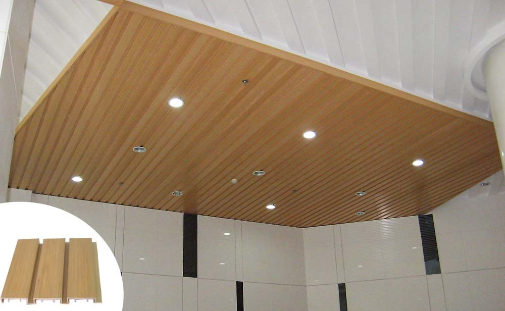composite wood ceiling, MexyTech wpc manufacturer in China