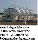 LPG VESSELS MOUNDED