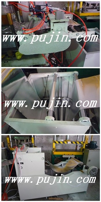Aluminum foil container  feeder systerm