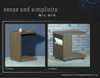 Side Table with Movable Tray (MM-Q107. Q106)