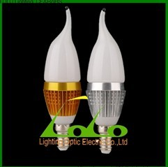 3W LED Candle Light Bulb LED Llighting For Crsytal Ceiling Lamp Indoor Decoration E27 E14 Led Bulb