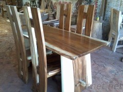 Dining Set Table with H Chair