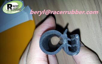 extruded EPDM composite rubber seal