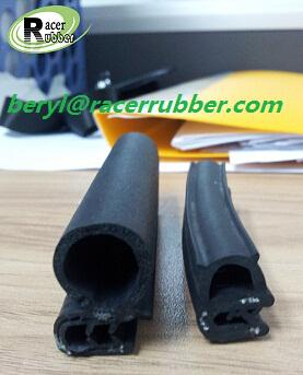 composite car window weatherstripping rubber seal