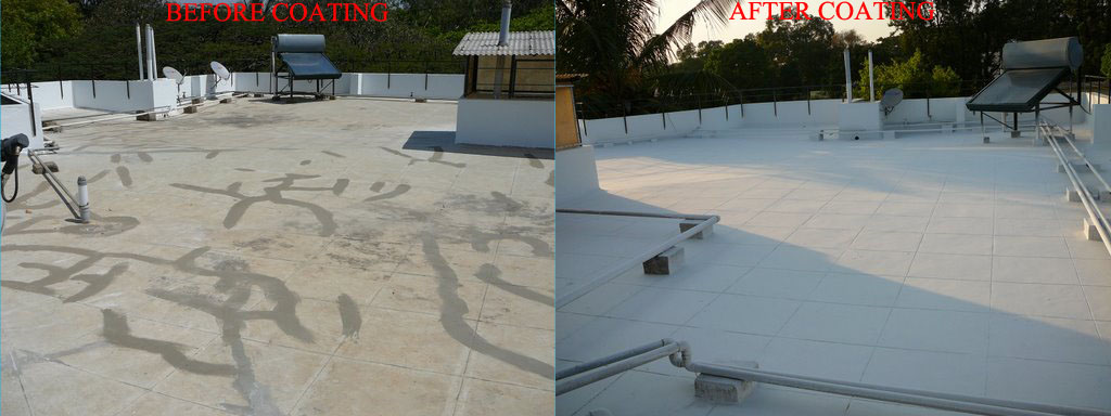 EXCEL flexicool :  [ Water Proofing + Heat Reflective Roof Coating ]