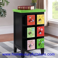 Decoration Table Drawer Chest Small Cabinets Color Table Color Cabinets FY-HG05