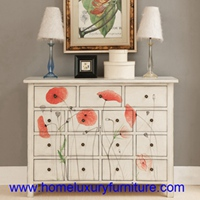 Drawer chest decoration painted cabinets side cabinets color cabinets new design JX-0967