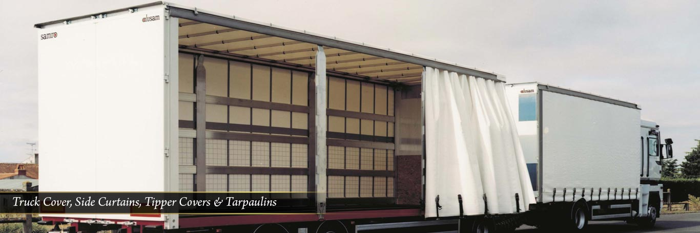 Truck Cover, Side Curtains, tipper covers & tarpaulins