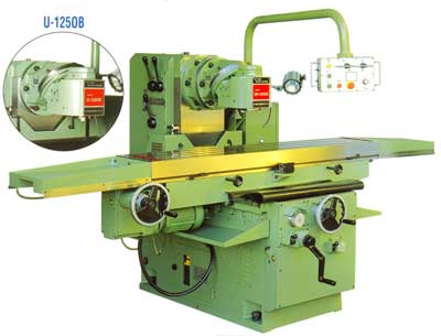 HO CHUN Bed Type Universal Milling Machine, Conventional Milling Machine