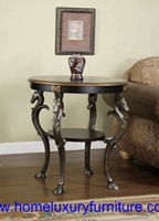 Classic table end table side table France style wood table corner table FY-1006