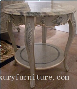 Corner table living room table marble table round table end table side table FC-103B