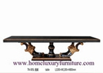 Large Table Dining Table Solid Dining Table Antique Dining Table 8 Black Dining Table TN05