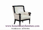 Chairs Wood Furniture Fabric cushion Chairs Dining Chairs Classic Luxury Chairs TR011
