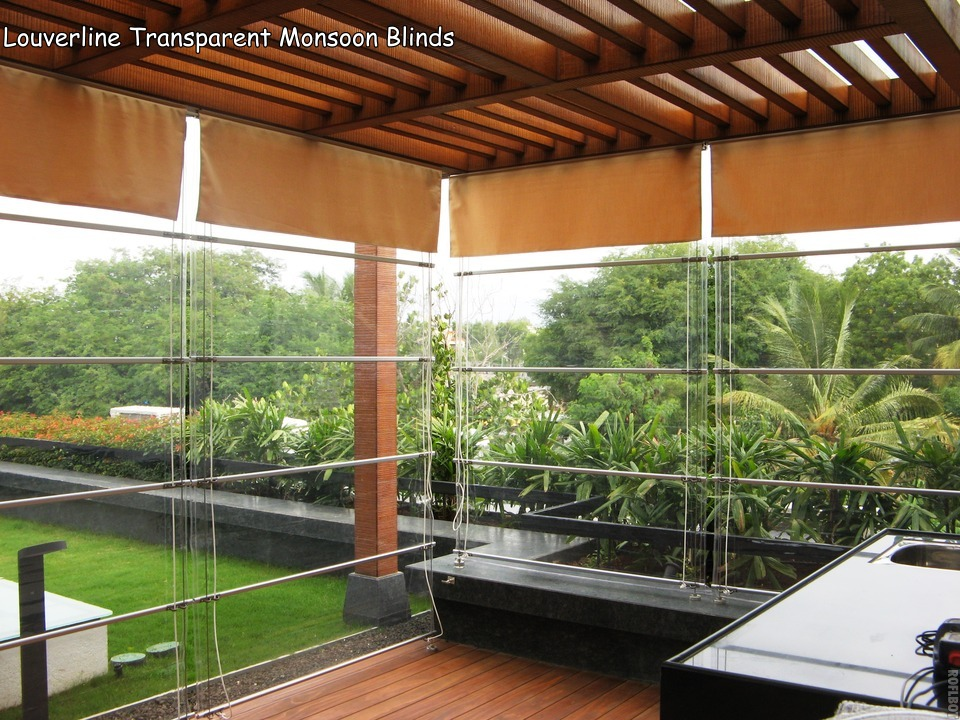 Outdoor Blinds / Transparent Blinds / PVC Blinds