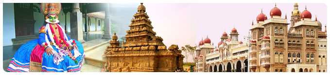 Best of South India Heritage & Religious Tour