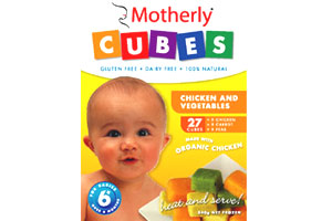 Chicken & Vegetable    Motherly Cubes