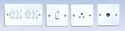 3ST Wall Switch and Sockets