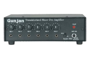 PA MIXERS (6 Channel Mixer Pre-Amplifier /12 V)