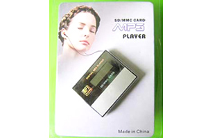 Mp3 Player With Card Slot  ( Model No. EBT301 )