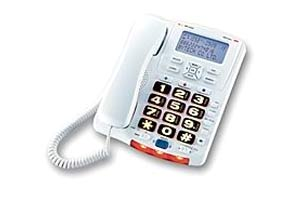Big Button Caller ID Phone with Remote Control ( MTCP-126A)