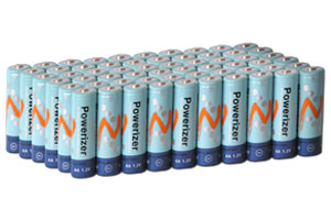 High Capacity And Rechargeable AA 2300mAh NiMH Batteries