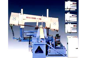 """HIGH SPEED DOUBLE COLUMN AUTOMATIC MITRE CUTTING BANDSAWING MACHINE """" MODEL- IT 410 DCAM """""""
