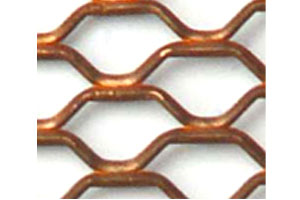 Expanded Brass Mesh