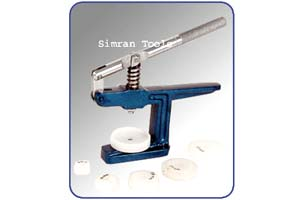 GLASS FITTING MACHINES - WITH NYLON DIES
